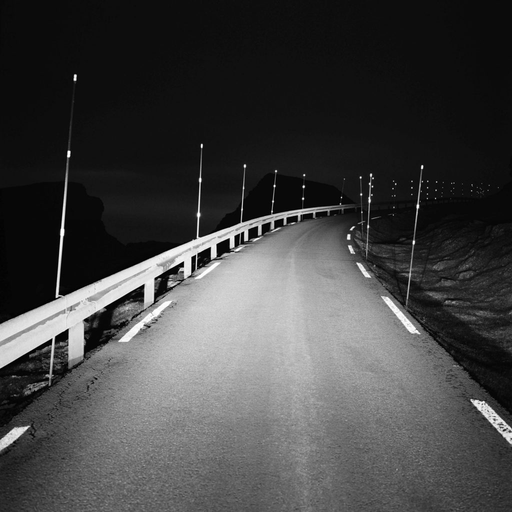 Highway into the night, let's begin, this journey we are in, Faroe Island, 2015