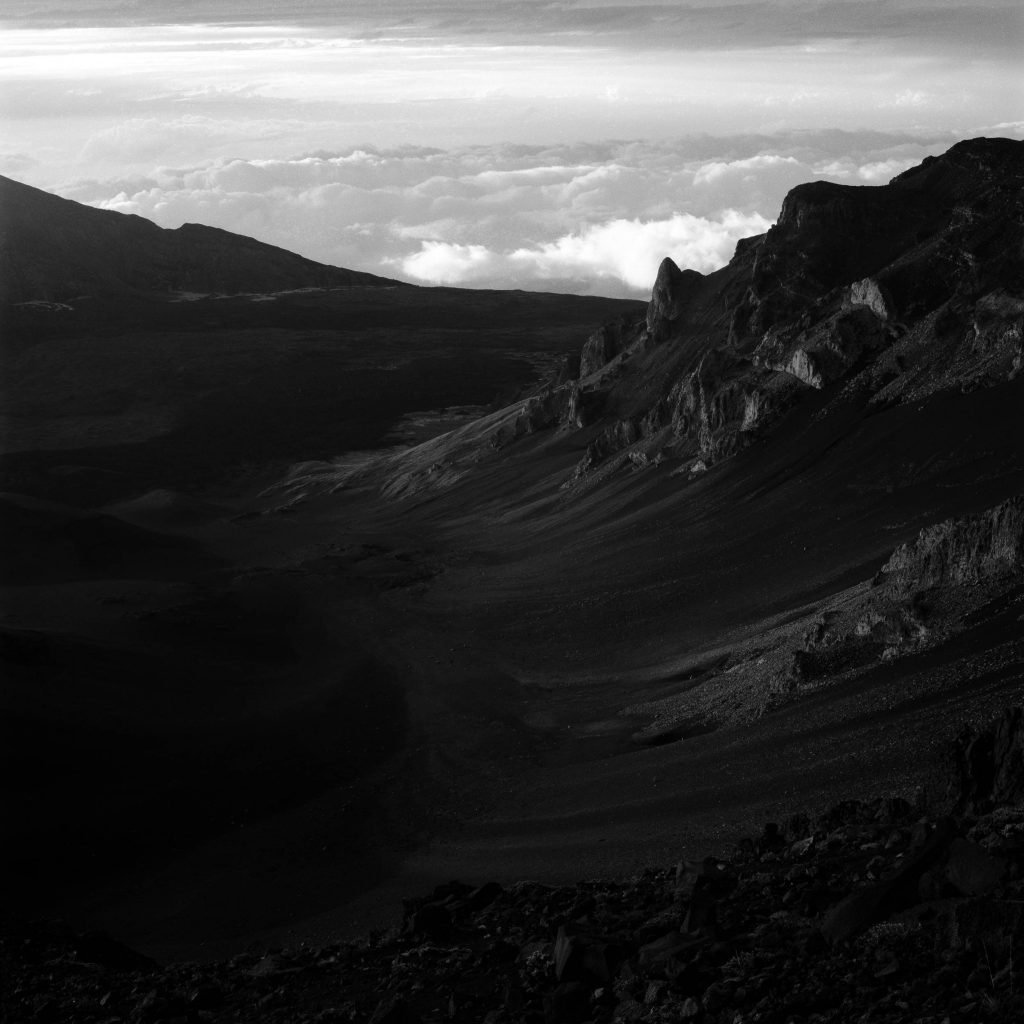 But wait for it is not far, Crater, Maui, Hawaii, 2013